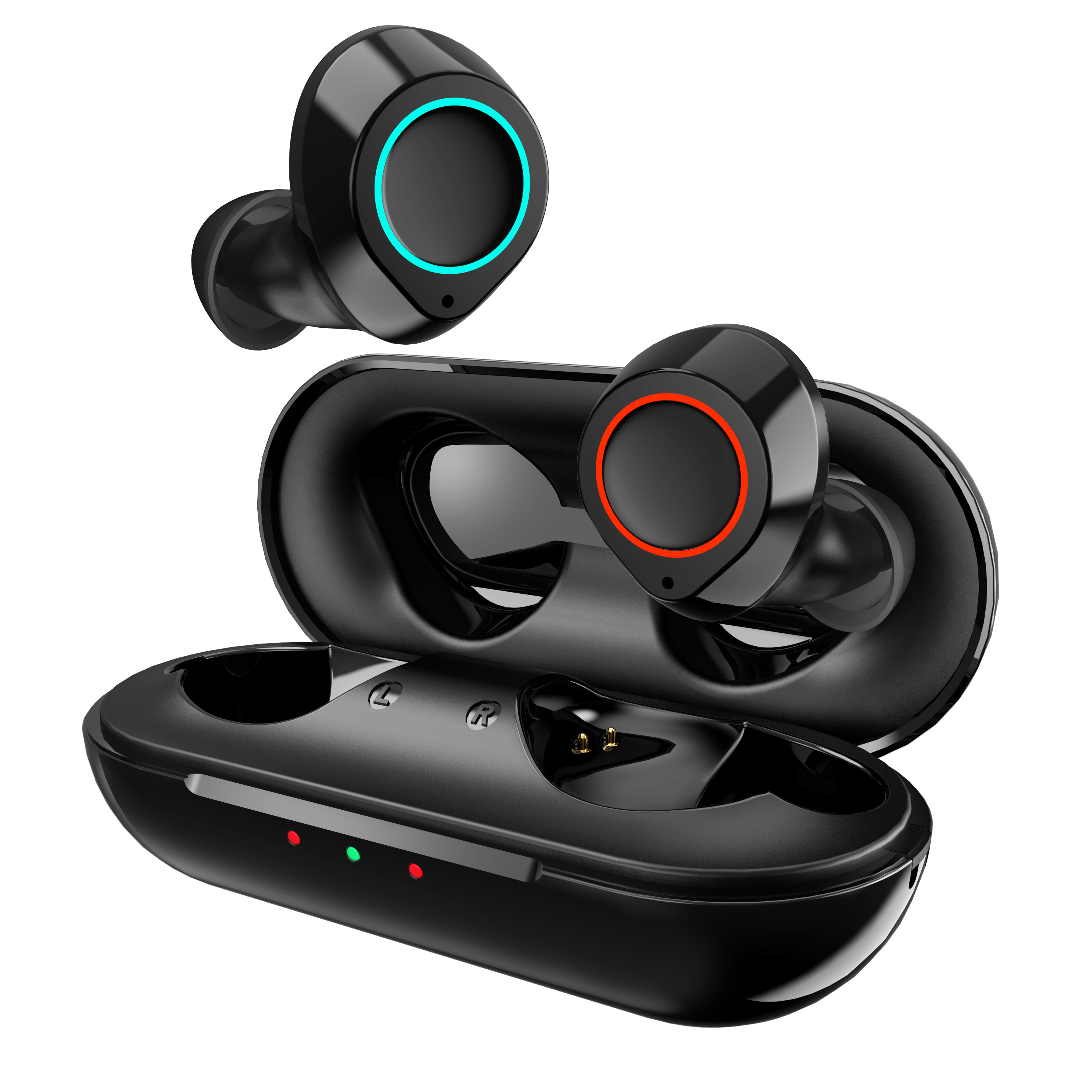 Jecoo Bluetooth 5.0 Stereo Sound Auto-Pairing Sweatproof Wireless Earbuds